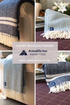 Enjoy superior comfort with our selection of luxury woollen throws. Bean Bag Furniture, Garden Furniture, Wool Throws, Faux Fur Bean Bag, Outdoor Bean Bag, Picnics, Home Decor Accessories, Home Organization, New Product
