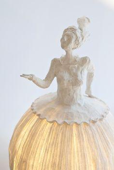 Précédent - Previous Suivant - Next  Mademoiselle Plume, 2009 (hauteur 45 cm)