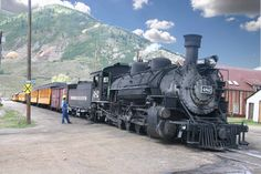 Durango to Silverton Colorado Train