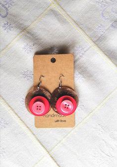 Happy circle earrings
