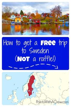 Free trip to Sweden? Find out what you need to do in order to get 2 roundtrip tickets from the US to Sweden, a night at the Radisson and up to 6 months of using a carc