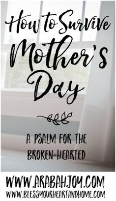 Perhaps Mother's Day is a struggle - infertility, miscarriage, loss. Here's hope from someone who understands!