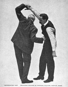 Vintage Jiu-Jitsu Lessons From Theodore Roosevelt's Personal Instructor | The Art of Manliness Jiu Jitsu Moves, Mixed Martial Arts Training, Martial Arts Styles, Weak Men, Art Of Manliness, Theodore Roosevelt, Boxing Workout, Aikido, Taekwondo