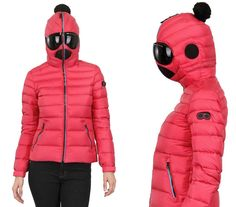 Worse Than Earmuffs: Jacket with Built-in Snow Goggles (I can't stop laughing. Seriously. Small favors, the pom-pom can be removed)