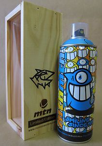 PEZ 2012 Limited Edition MTN Montana Colors Spray Paint Can 1 of 500 Made