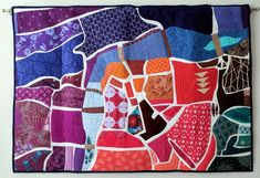 Jessica on making a map quilt: Finishing this quilt was a really happy moment; it's a culmination of 2017, and until it was hung up on a wall, the year didn't seem complet...