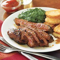 Cola- Marinated Flank Steak | MyRecipes.com