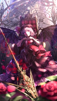 Some cool remilia fan art from touhou on pixiv 「紅魔館 ~主の間~」/「ryosios」の作品 [pixiv] #pixitail