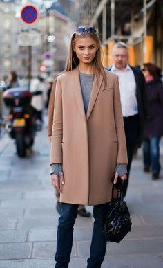 Anna Selezneva Street Style | { Couture /// Effortless Style #modeloffduty #mod #model