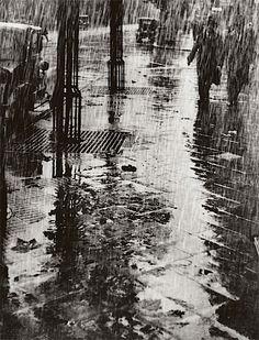 Paul Wolff, Alfred Tritschler. Strasse Im Regen, 1925  [::SemAp FB || SemAp::]