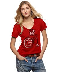 Georgia Bulldogs Football T-Shirt by Tailgate
