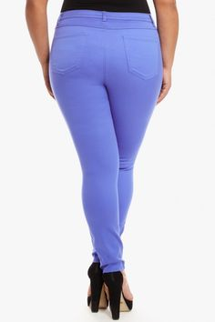 Plus Size Andie Blue Skinny Jeans | Fashion To Figure