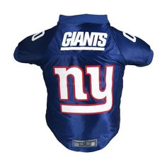 We get that your pet is as serious about the game as you are. The  officially licensed New York Giants Pet Premium Jersey features authentic  team uniform ... 58328e906