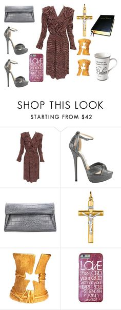 """""""Untitled #908"""" by jessica-uyvette-thompson ❤ liked on Polyvore featuring Yves Saint Laurent, Jimmy Choo, Christian Lacroix and Home Essentials"""