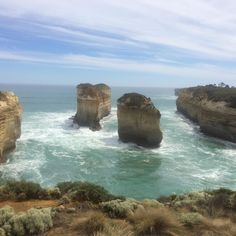 Title: The Twelve Apostles Great Ocean Road Apollo Bay Melbourne. Australia. Photograph: Mallory McCluney (2016) (c)olvamadaaustraliagallery2016 copyrights reserved. #australianphotographer#australianphotography#thetwelveapostles#apollobay by olvamada_australia_gallery http://ift.tt/1LQi8GE