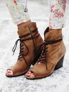 Free People Talisman Peep Toe Wedge, $188.00