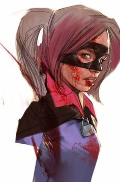 Kick Ass - Hit Girl by Ben Oliver *