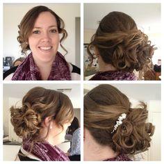 My hair trial!