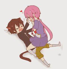 Yukii e Yuno #MiraiNikki