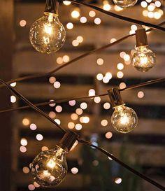 Set of 20 Bulbs Cafe Style Patio String Lights - 20 Feet, . : Set of 20 Bulbs Cafe Style Patio String Lights - 20 Feet, Backyard Covered Patios, Backyard Trees, Backyard Patio, Fence Trees, Cement Patio, Flagstone Patio, Covered Pergola, Patio String Lights, Globe String Lights