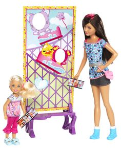 #Barbie Sisters 2 Pack 2 Characters available online at http://www.babycity.co.uk/