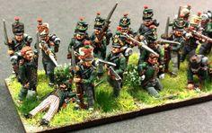 Fucilieri della fanteria leggera sassone