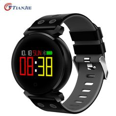 Purchase Color Screen Heart Rate Blood Pressure Sport Smartwatch For IOS Android smart 2367 from Yuanzala on OpenSky. Share and compare all Electronics. Smartwatch, Tracker Fitness, Bluetooth, Android Features, Ios, Smart Bracelet, Bracelet Watch, Heart Rate Monitor, Portable