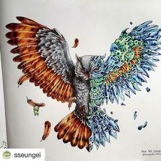 Steampunk owl from Imagimorphia by Kerby Rosanes, Michael O'Mara Books