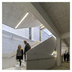 Campus Area in Industrial Buildings | Bertelsen & Scheving Architechts | Archinect