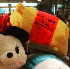 Maihama Disney Store 15th Anniversary Tsum Tsum Candy Bags