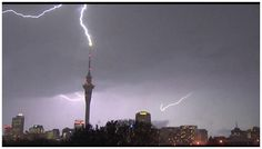 More than 700 lightning strikes lit up the stormy sky over Auckland during a violent thunderstorm yesterday evening. MetService duty forecaster Tuporo Marsters said the city was struck by 701 flashes and rocked by loud, rolling thunderclaps. The...