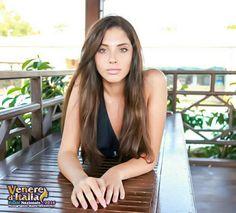 Iris Natale, vincitrice della fascia Venere Fotomodella al concorso Venere d'Italia