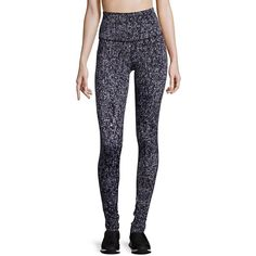 Beyond Yoga High-Waist Leggings ($78) ❤ liked on Polyvore featuring pants, leggings, apparel & accessories, lapping triangles, high rise pants, stretch waist pants, beyond yoga legging, high-rise leggings and high waisted pants