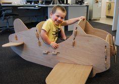 Plywood Plane
