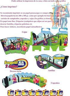 Junior Express topa - Página web de diseñokitdecumpleaños