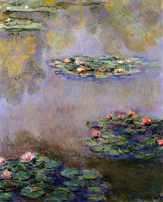 Claude Monet. Water Lilies (1908).