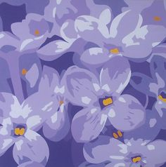 """""""Purple Passion"""" part of the lovely portfolio of artist Susan Porter. See her work featured at www.ArtsyShark.com"""