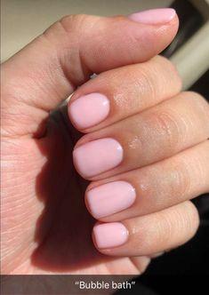 Nails gel, we adopt or not? - My Nails Neutral Nails, Nude Nails, My Nails, Uñas Diy, Design Ongles Courts, Short Gel Nails, Short Pink Nails, Gel Nail Colors, Cute Nail Colors