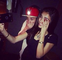 Justin Bieber, Madison Beer Play Around In Studio