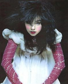 Image about bjork in Music by Le Cirque des Rêves. Britney Spears, Michael Jackson, Eccentric Style, Portraits, Foto Art, Female Singers, Girl Crushes, Style Icons, Beautiful People