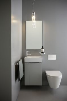 Love the floating toilet! Kartell by Laufen