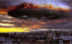 Incríveis Imagens de um UFO com mais de 400 km de Diâmetro pego pelo satélite no Chile!!