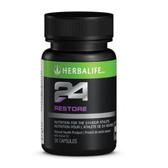 Herbalife24 Restore  Getting stronger requires stressing your body, but stressing your body without proper recovery takes its toll. Taken before sleep, Herbalife24 Restore helps you take full advantage of your resting hours.