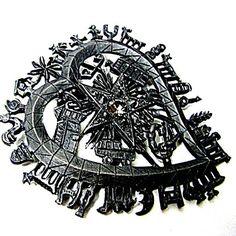 CHRISTIAN LACROIX  broche/pendentif en métal par PauletteVintage
