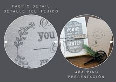 Your text here! Hand printed on fabric with a special vintage technique that allows each piece to be unique, just as your message! By My Home and Yours!