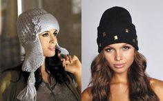 Модные головные уборы сезона осень-зима 2017-2018 | фото Knitted Hats, Crochet Hats, Winter Hats, Knitting, Fashion, Knitting Hats, Moda, Tricot, Knit Caps