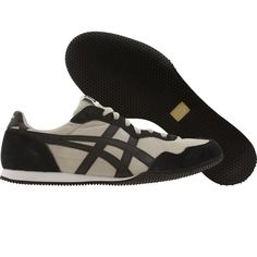 Asics Onitsuka Tiger Serrano shoes in tan and black