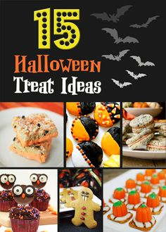 15 Halloween Treat Ideas - Cupcake Diaries