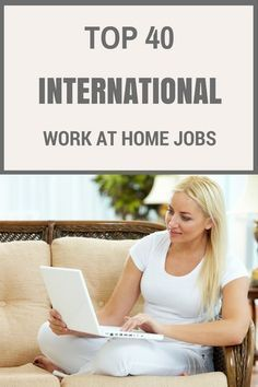 International Work from Home Jobs