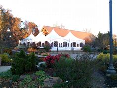 Botanical Garden of the Ozarks   Fayetteville, Arkansas   Tents on Terrace - Intents Party Rentals   End of Fall Season